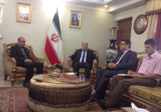 Newly Appointed Iranian Consul General in Sulaimani Received Delegations of UoS
