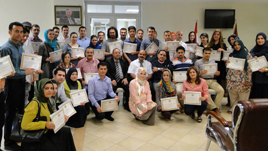 The Fifth Teaching Training Methods Course Successfully Accomplished