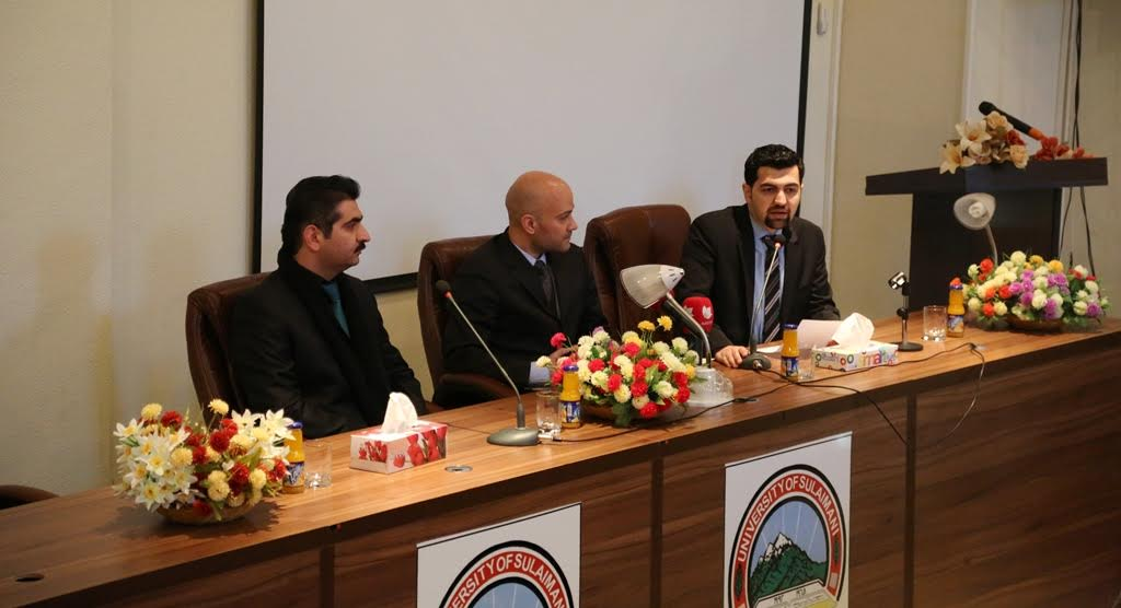 Jalal Talabany Chair of Kurdish Political Studies at UCF Presented a Seminar at University of Sulaimani