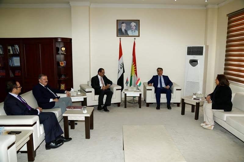 A Common Committee between MHE, KRG and Jordan MHE has been formed to implement the education agreement
